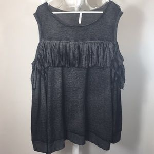 Grayson Threads cold shoulder sweater